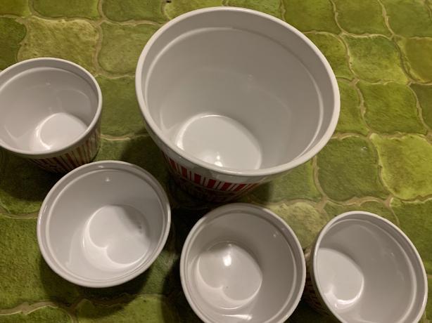 New Popcorn Bowl Set