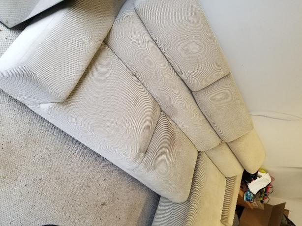 FREE: Couch with reclining headrests
