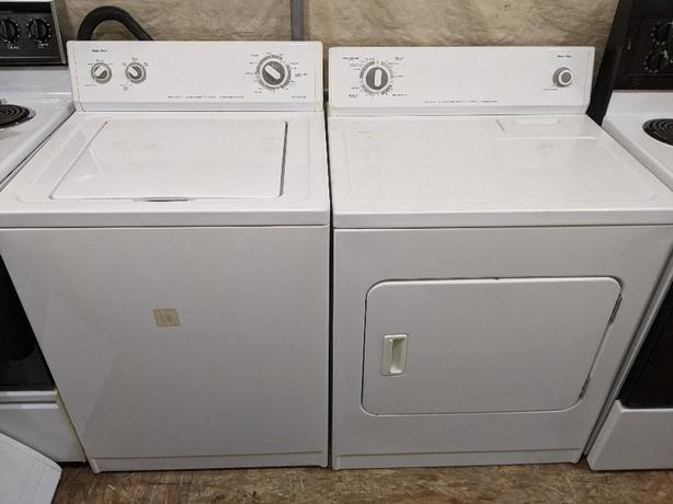 Magic Chef heavy duty washer and dryer set