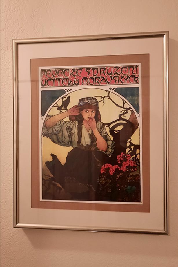 Alphonse Mucha print
