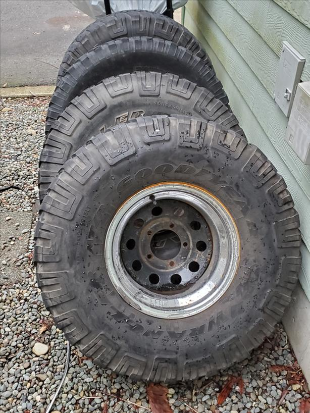 """35"""" Tires with 15"""" Rims"""