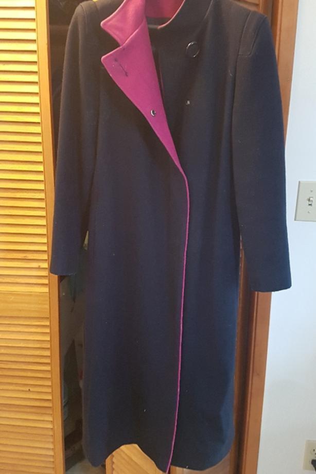 Wool coat - size 13/14