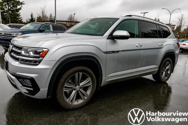 2019 Volkswagen Atlas Highline w/R-Line Pkg, Blindpsot, Front Assist