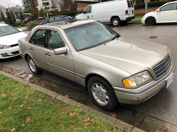 1997 MERCEDES BENZ C230 -$1995-4CYLAUTOMATIC-4DR LIKE NEW-$1995