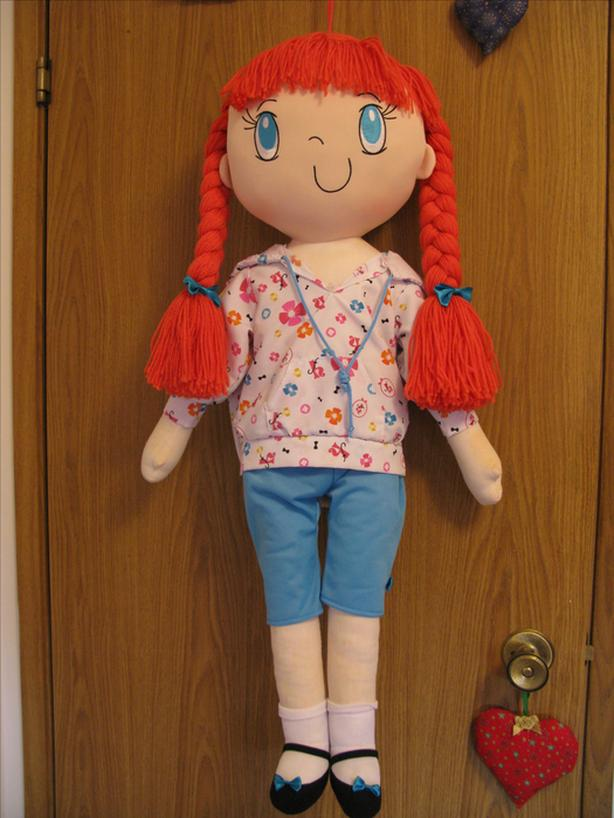 3 FOOT TOY DOLL