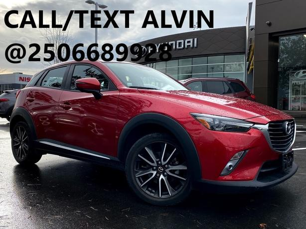 2016 Mazda CX-3 GT TOP OF THE LINE! FULLY LOADED!