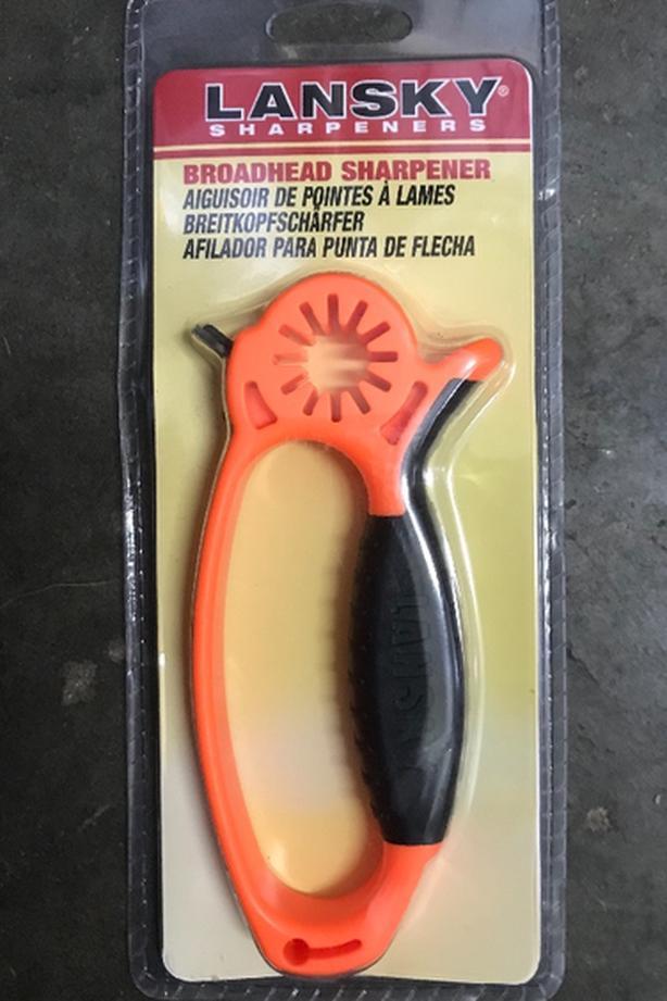 NEW Lansky Broadhead Sharpener & Wrench $7