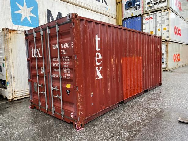 HONEYBOX - DELTA - used 20' shipping container - TEMU1945033