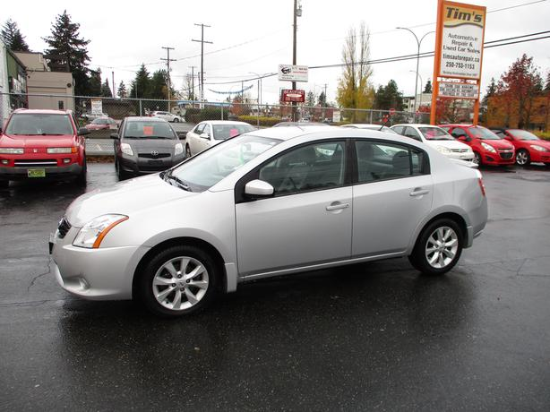 2012 NISSAN SENTRA 4 CYLINDER AUTOMATIC WITH AC