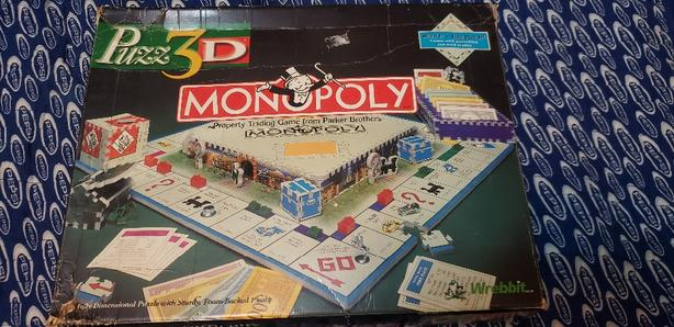 3d puzzle monopoly game