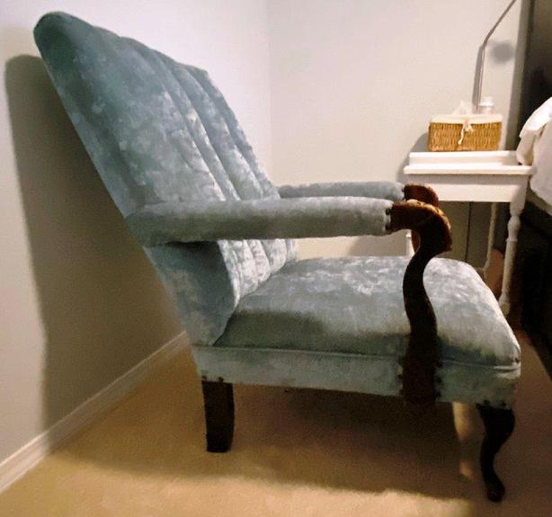 comfortable antique chair