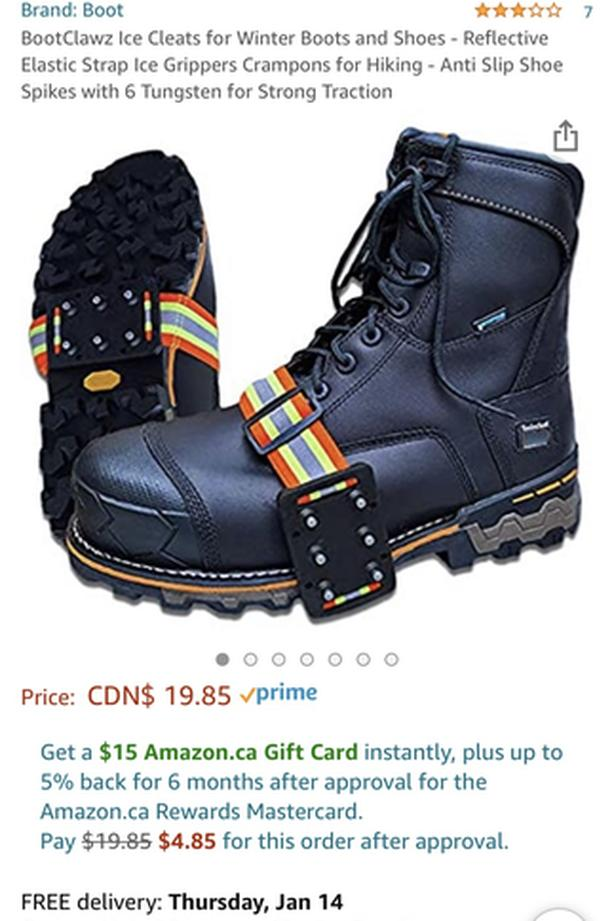 Mid-Sole Snow Cleats