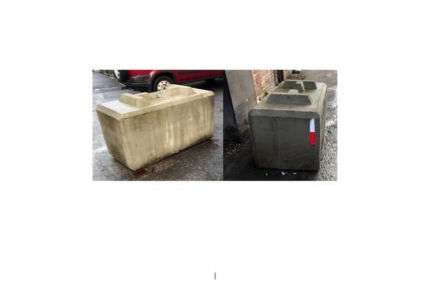 Heavy Duty Cement / Concrete Lock Blocks - FREE