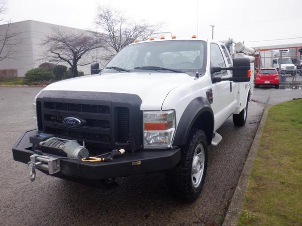 2009 Ford F350 Xl Super Duty Supercab Service Truck Diesel Rear Power Tailgate A