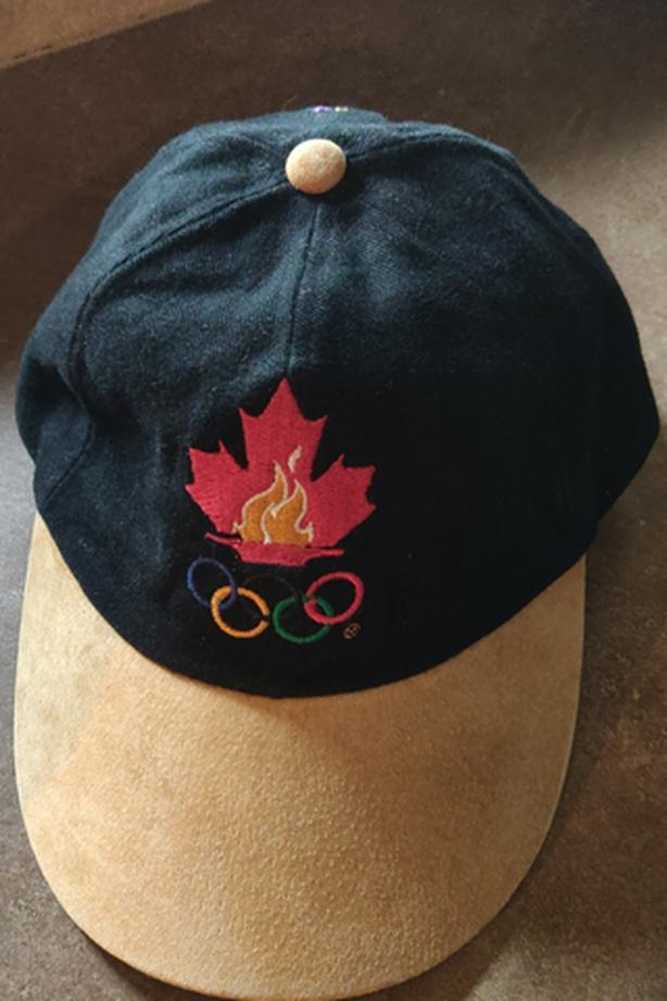 """COLLECTOR"" ~ '96 OLYMPICS BALL CAP"