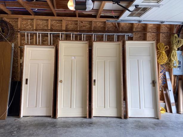 Antique PreHung Fir Doors