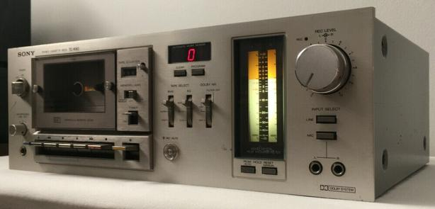 Vintage Sony TC-K60 Cassette Tape Deck