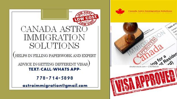 PROFESSIONAL ADVICE IN IMMIGRATION Matters/Paperwork-low fees