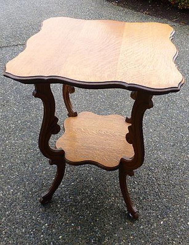 Golden Oak parlour table