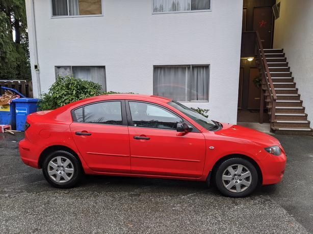 2007 Red Mazda3