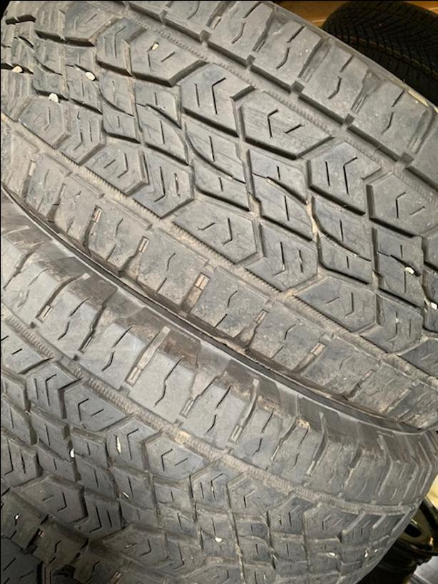 265/70R18 Continental 10 ply M+S