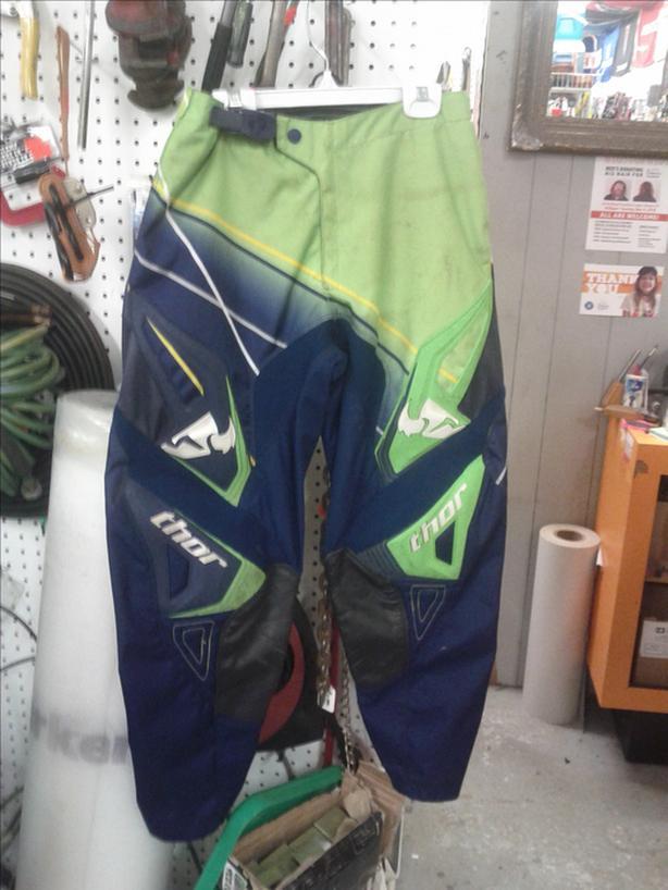 Motorcycle Pants; Size 30