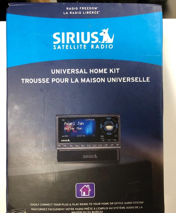 Sirius Satellite radio home kit