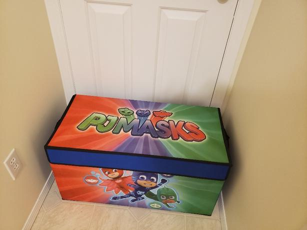 brand new in package Pj masks collapsible storage