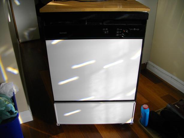 White Portable Dishwasher