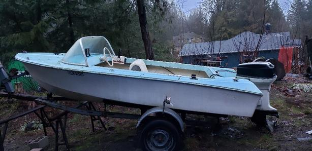 Mercury Boat and Trailer