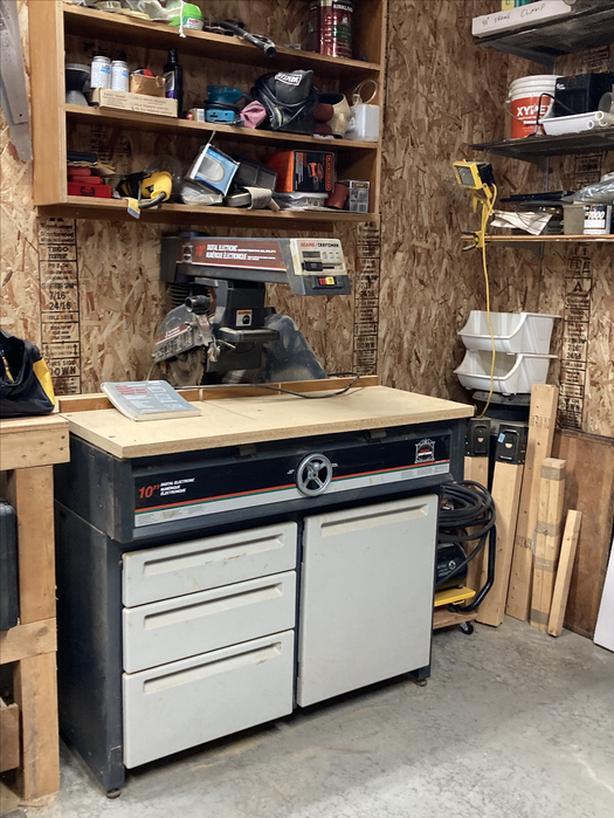Craftsman Professional Radial Arm Saw