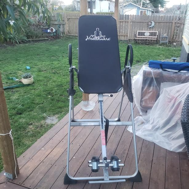 Inversion Table priced for quick sale.