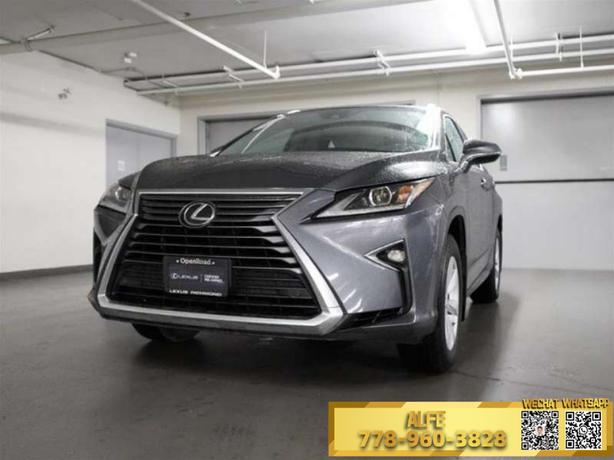 2017 LEXUS RX350 *NO ACCIDENTS, SUN/MOONROOF, BLIND SPOT MONITOR*