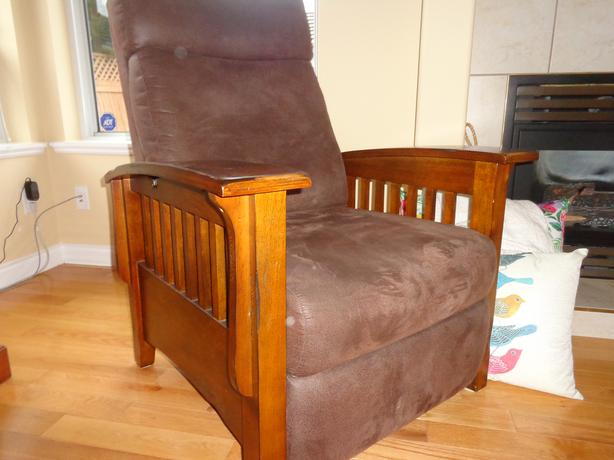"""Morris"" reclining  chair"
