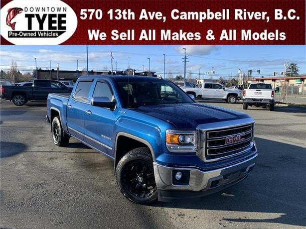 2015 GMC Sierra 1500 SLT 4x4 Crew Cab 5.75 ft. box