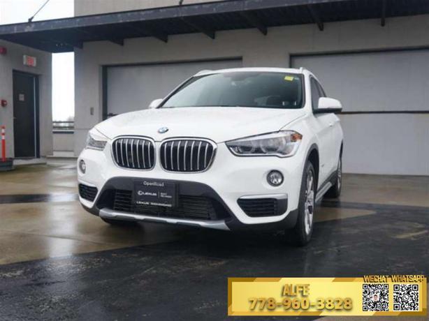 2017 BMW X1 *MOONROOF, NAVIGATION, HEADS-UP DISPLAY, PANORAMIC ROOF*