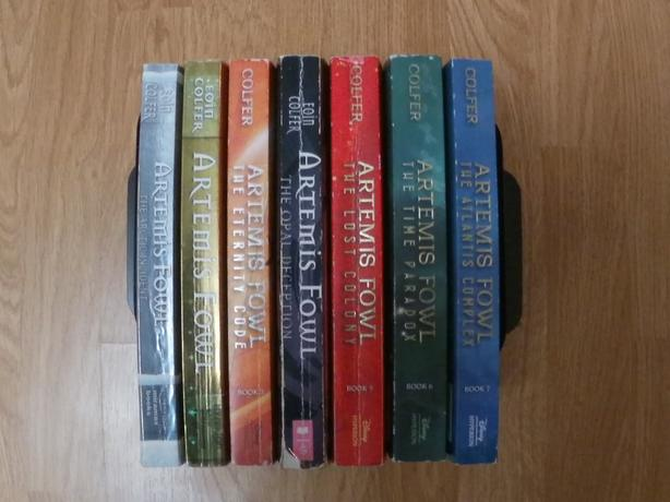 Artemis Fowl Full Book Collection