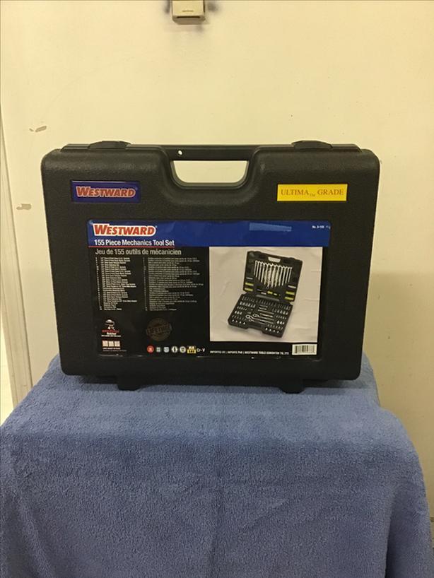 155 Piece Westward tool kit