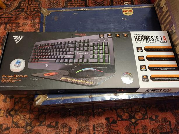 Hermes E1A Gaming Keyboard Mouse and Mousepad