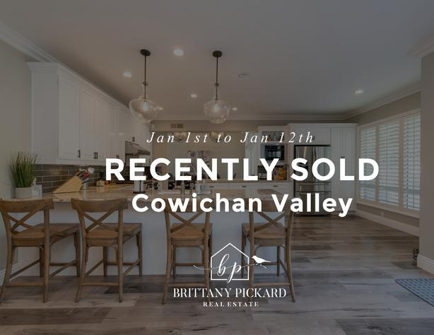 Listings Recently SOLD 📈 - Cowichan Valley
