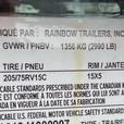 5x8SSE Rainbow Trailer