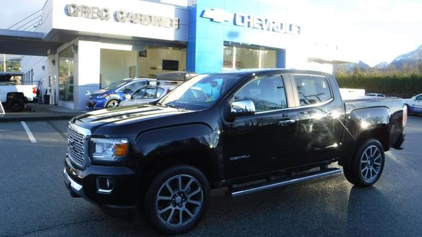 Used 2018 GMC Canyon 4WD Denali