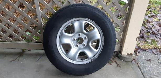 Michelin Winter Tires, 215/70 R15 with Rims