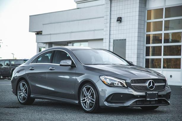 Used 2019 Mercedes-Benz CLA 250 4MATIC No Accidents Low Kilometers Coupe