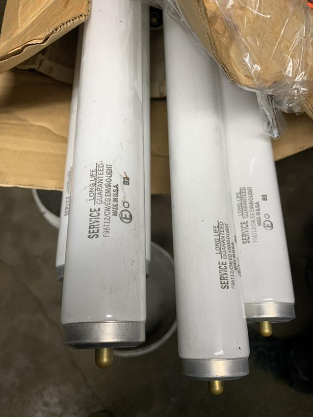 7 New 8FT Florescent Lights