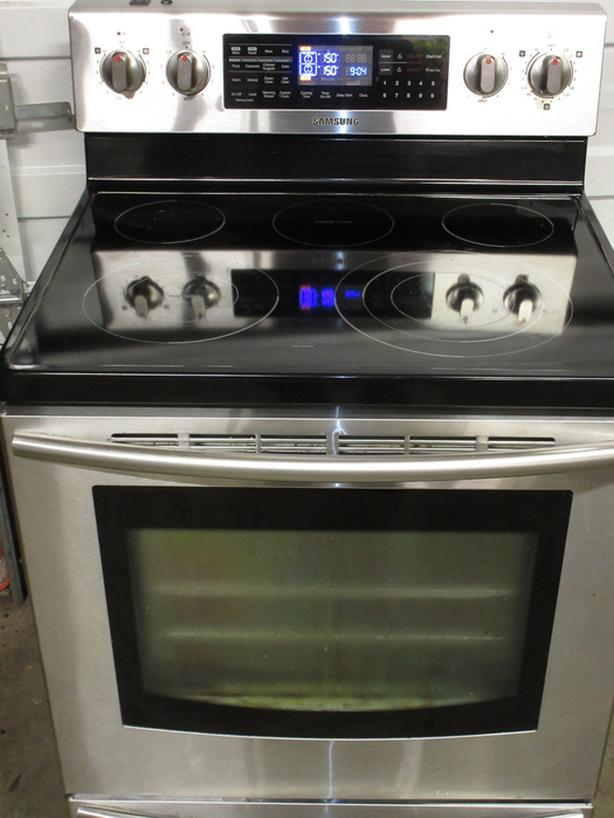 Samsung Stainless steel stove - High End, two ovens