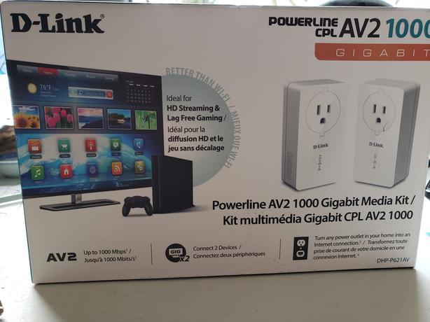 D-Link Powerline AV2 1000 Gigabit Media Kit