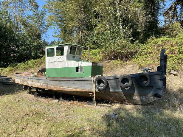 Steel Tug For Sale - Lady B
