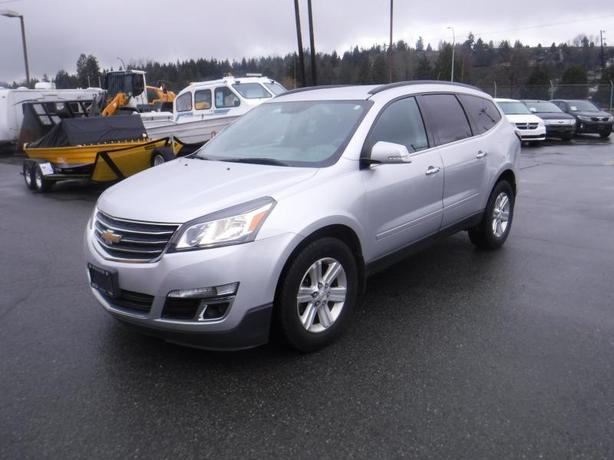 2013 Chevrolet Traverse 2LT AWD With 3rd Row Seating