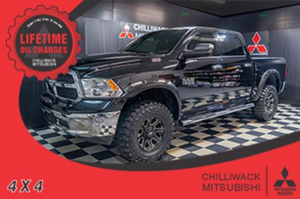 Pre-Owned 2015 Ram 1500 SLT 4WD Crew Cab Pickup